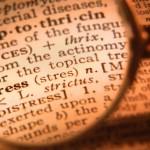 stress verminderen definitie