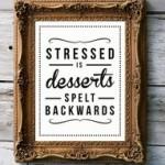 stress verminderen gewichtstoename