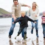 stress verminderen kinderen vakantie