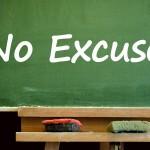 stress verminderen smoesjes en excuses