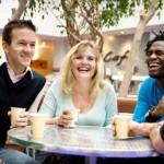 stress verminderen werk vrienden
